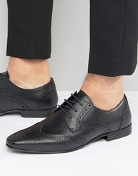 Kg By Kurt Geiger Kenford Brogue Derby Shoes Black