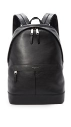 Michael Kors Owen Leather Backpack Black