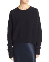 Vince Plush Easy Crewneck Sweater Blue