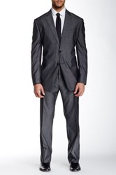 John Varvatos Chad Two Button Notch Lapel Suit Separates Jacket Gray