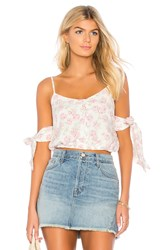 Somedays Lovin Young And Restless Crop Top White