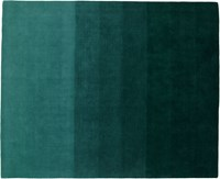 Cb2 Ombre Teal Rug 8'X10'