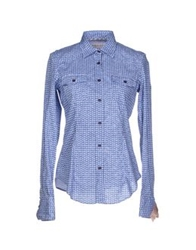 Manuel Ritz Shirts Blue