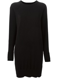 Maison Martin Margiela Maison Margiela Short Sweater Dress Black