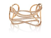 Dauphin Women's Serpentine Cuff Gold
