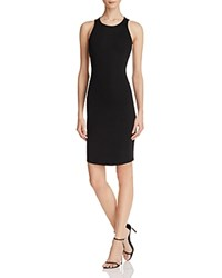 Kendall And Kylie Open Back Bandeau Dress Black