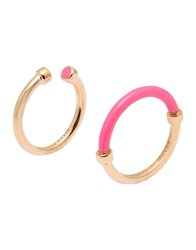 Marc By Marc Jacobs Rings Fuchsia