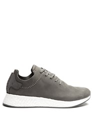 Adidas Originals By Wings Horns Nmd R2 Mid Top Leather Trainers Grey