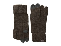 Coal The Randle Glove Heather Brown Wool Gloves