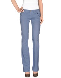 Cycle Trousers Casual Trousers Women Sky Blue