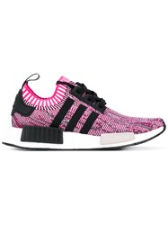 Adidas Originals Nmd R1 Sneakers Unisex Nylon Polyester Polyurethane Rubber 7.5 Pink Purple