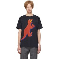 Paul Smith Ps By Navy Dino Regular Fit T Shirt