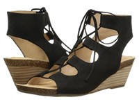 Me Too Adam Tucker Tami 8 Black Nubuck Women's Sandals