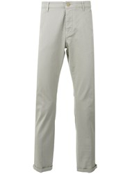 Pence Slim Fit Trousers Grey
