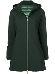 Save The Duck Hooded Jacket Green