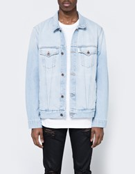Off White Scorpion Denim Jacket Bleach Vintage White