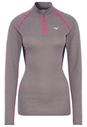 Mizuno Sports Shirt Fine Grey Pink
