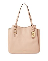 Lauren Ralph Lauren Easby Fenmore Leather Tote