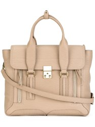 3.1 Phillip Lim Medium Pashli Satchel Nude Neutrals