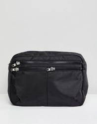 Weekday Shoulder X Body Bag Black
