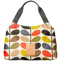 Orla Kiely Etc Classic Multi Stem Shoulder Bag Multi