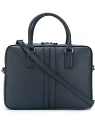 Tod's 'Pillow' Laptop Bag Blue