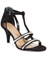 Style And Co. Hughley Dress Sandals Women's Shoes Black