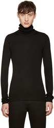 Blk Dnm Black Ribbed 61 Turtleneck