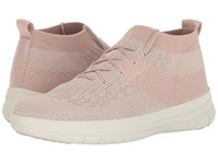 Fitflop Uberknit Slip On High Top Sneaker Neon Blush White Women's Slip On Shoes Pink