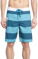Rvca Men's Civil Stripe Board Shorts