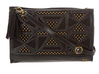 The Sak Iris Demi Clutch Black Tribal Clutch Handbags