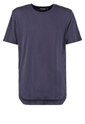Revolution Basic Tshirt Navy Dark Blue