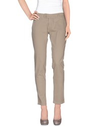 Duck Farm Trousers Casual Trousers Women Beige
