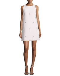 Kate Spade Sleeveless Beaded Shift Dress Women's Ballerina Pink