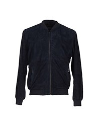 Lot 78 Coats And Jackets Jackets Men Dark Blue
