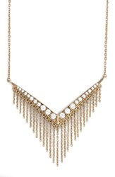 Women's Melinda Maria 'Shelli' Fringe Pendant Necklace