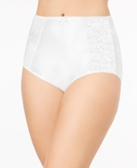 Bali Double Support Brief Dfdbbf White