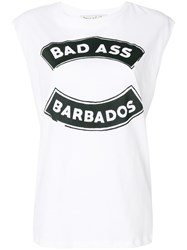 Etre Cecile Bad Ass Tank Top White