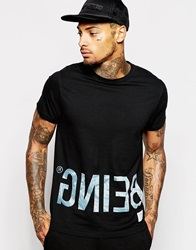 Supreme Being Supremebeing T Shirt With Reverse Logo Black