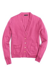 J.Crew Women's 'Harlow' Cardigan Neon Wildflower