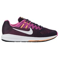 Nike Air Zoom Structure 20 Women's Running Shoes Purple Dynastly White