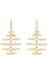 Fernando Jorge Mini Disco 18 Karat Gold Diamond Earrings Usd