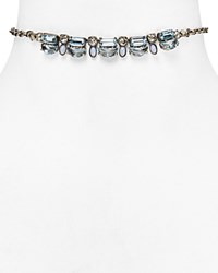 Sorrelli Classic Swarovski Crystal Choker Necklace 100 Bloomingdale's Exlusive Pebble Blue