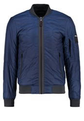 Replay Bomber Jacket Blue