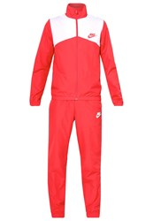 Nike Sportswear Tracksuit Top Track Red White