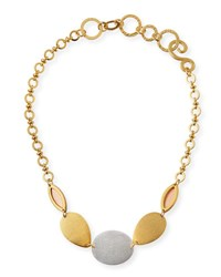 Stephanie Kantis Cliffside Statement Necklace Gold