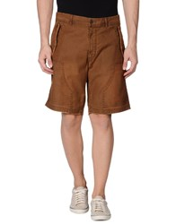 Blauer Bermudas Brown