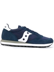 Saucony Dxn Sneakers Cotton Suede Polyester Rubber Blue