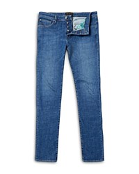 Ted Baker Selsyn Straight Fit Jeans In Light Wash
