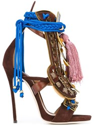 Dsquared2 'Samurai' Sandals Brown